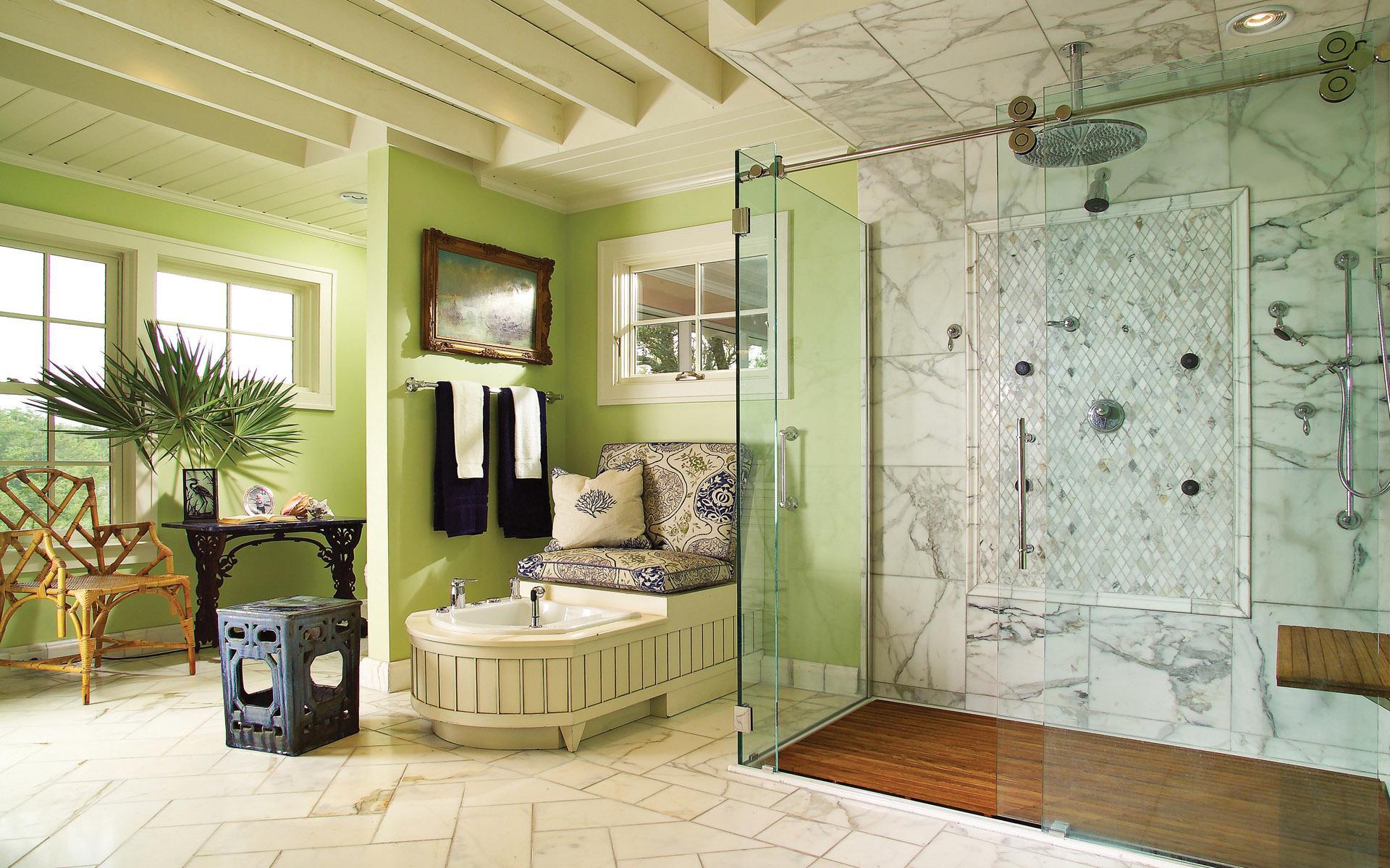 Ванная комната широкоформатные обои