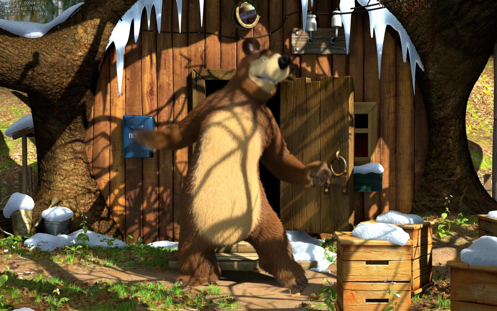 Название маша и медведь размер 1680x1050