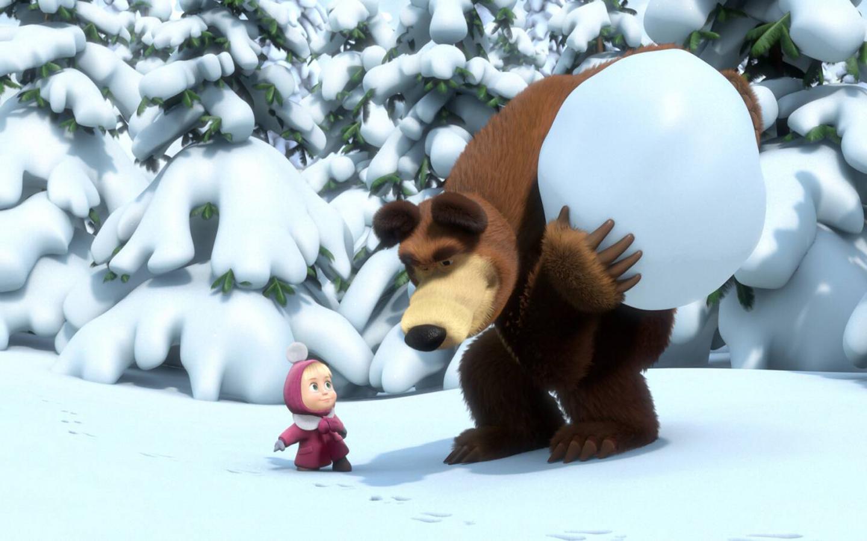 Название маша и медведь размер 1440x900