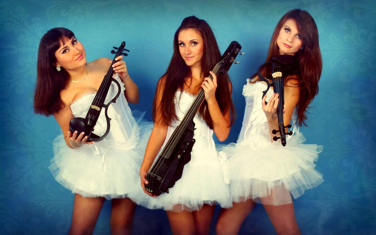 Скрипачки Violin Group DOLLS